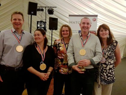 Hatchers quiz night raises funds for charity