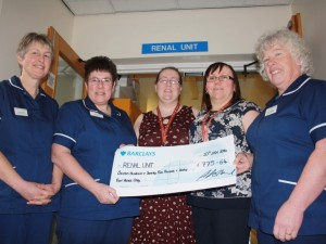 Patients to benefit from generous donations to Renal Unit