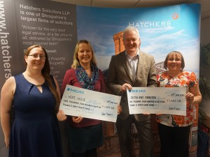Hatchers Solicitors celebrate another year of fundraising success