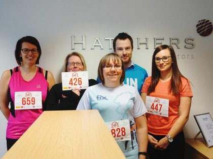 Hatchers Solicitors sign up for Shrewsbury 10k
