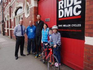 Shrewsbury Grand Prix competition winner delighted with new bike